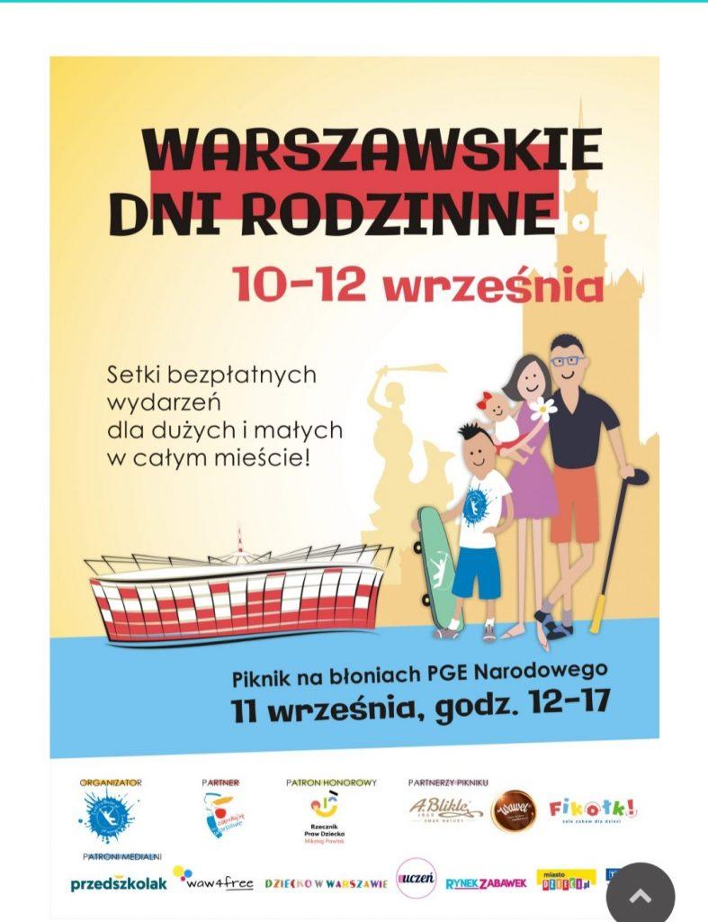 Warszawskie Dni Rodzinne 2021